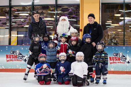 Предновогодняя тренировка 2016 | Хоккейная школа Rush